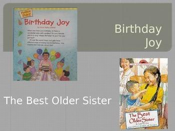 The Best Older Sister / Birthday Joy Power Point