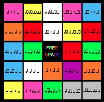 The Best Rhythm Bingo Games Ever (Set of 4) – Perfect for
