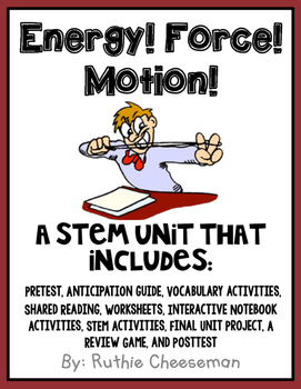The Best STEM Force and Motion Unit Ever!