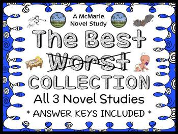 The Best Worst BUNDLE (Barbara Robinson) 3 Novel Studies |