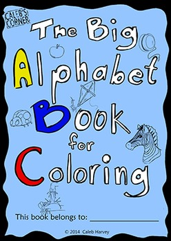 The Big Alphabet Book for Coloring - USA