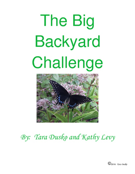 The Big Backyard Challenge - Inspire Your Students to Expl