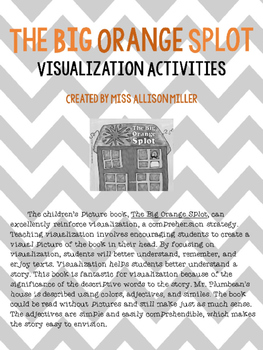 The Big Orange Splot Visualization Packet Editable Edition