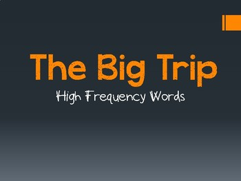 The Big Trip PowerPoint