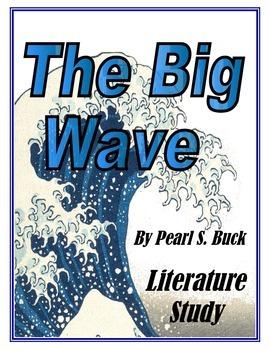 The Big Wave Literature Study: Printables, Activities, Tes