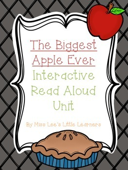 """The Biggest Apple Ever"" Interactive Read Aloud"