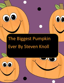 The Biggest Pumpkin (2nd grade literacy activity)