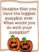 The Biggest Pumpkin Ever Fall Writing Freebie
