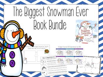 The Biggest Snowman Ever- ELA Bundle- CCSS Aligned