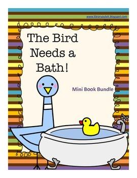 The Pigeon Needs a Bath Mini-book bundle