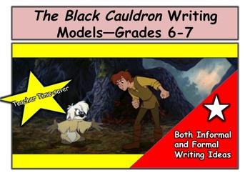 The Black Cauldron Writing Models—Grades 6-7
