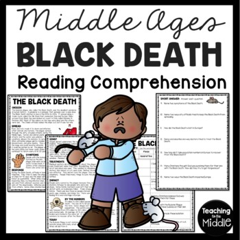 The Black Death Reading Comprehension, Middle Ages, Buboni