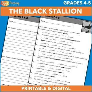 The Black Stallion Novel Unit