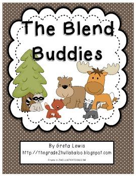 The Blend Buddies - Initial Consonant Blend Activities