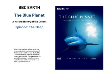 The Blue Planet - The Deep Documentary - Adaptations Inclu