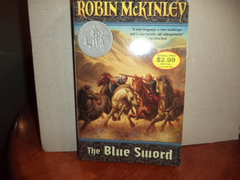 The Blue Sword  ISBN 0-14-131188-6