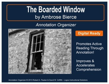 """""""The Boarded Window"""" by Ambrose Bierce: Annotation Organizer"""