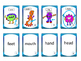 The Body Vocabulary ESL Concentration Game