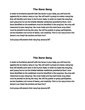 The Bone Song - Group Activity