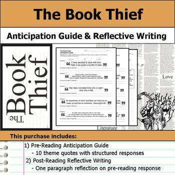 The Book Thief - Anticipation Guide & Reflection