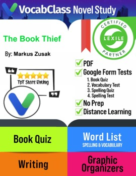 The Book Thief Novel Study Guide PDF | READING QUIZ | VOCA