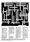 The Book Thief by Markus Zusak - Crossword Puzzle
