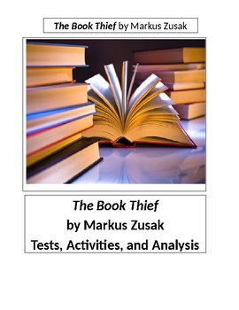 The Book Thief by Markus Zusak 50 Question Objective Test