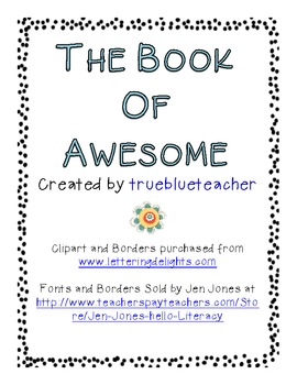 The Book of Awesome - Complete Unit