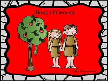 The Book of Genesis Powerpoint Game