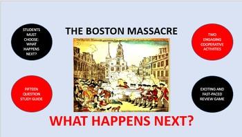 The Boston Massacre:  What Happens Next?