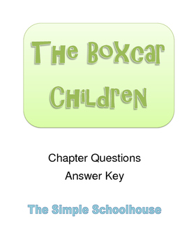 The Boxcar Children (#1) Chapter Questions
