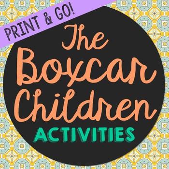 The Boxcar Children Novel Unit Study Activities, Book Report