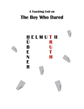 """""""The Boy Who Dared"""" Teaching Unit: Activities, Q & A, Voca"""