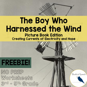 FREE - Boy Who Harnessed the Wind: Core Language in Speech