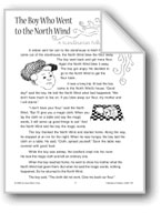 The Boy Who Went to the North Wind (A Scandinavian Folktale)