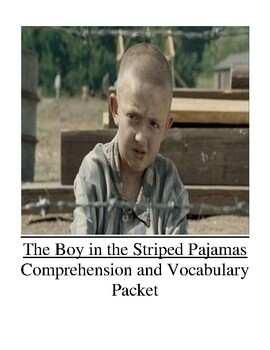 The Boy in the Striped Pajamas Guided Reading Unit Level Z