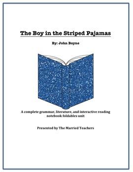 The Boy in the Striped Pajamas Literature, Grammar, & Inte
