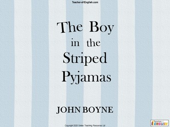 The Boy in the Striped Pyjamas teaching unit