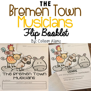 The Bremen Town Musicians Flip Booklet