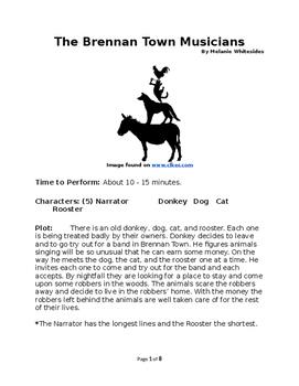 The Brennan Town Musicians Reader's Theater