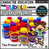 Character Education {Teaching Children to Think Before Speaking}