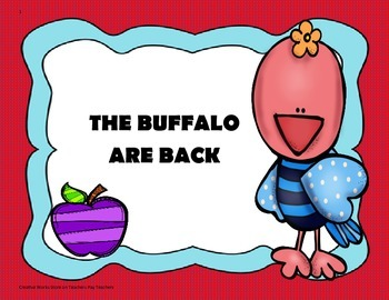 The Buffalo Are Back -  4th Grade - Trifolds + Activities