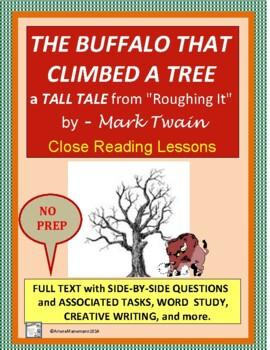 THE BUFFALO THAT CLIMBED A TREE by Mark Twain - Tall Tale