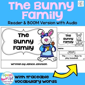 The Bunny Family ~Spring Family reader for Easter time {Yo