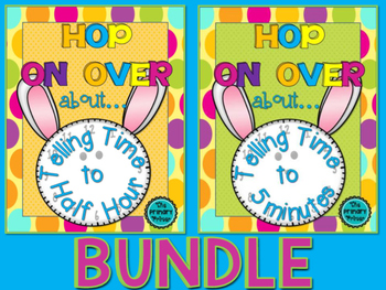 HOP ON OVER:  BUNDLE Telling Time