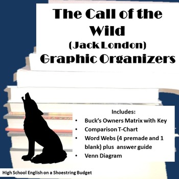 The Call of the Wild Graphic Organizers (Jack London)