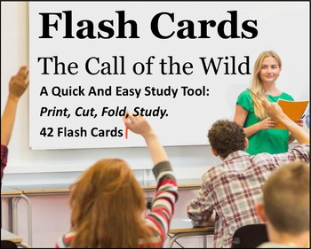 The Call of the Wild Study Flash Cards