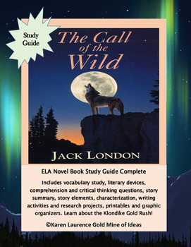 The Call of the Wild by Jack London Novel Reading Study Gu