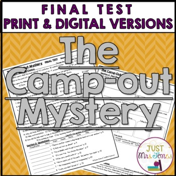 The Camp-Out Mystery Final Test