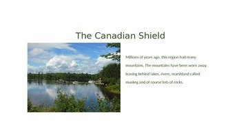 The Canadian Shield Power Point